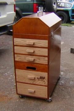 オリジナル造形 木製 木製造形 木製工具箱