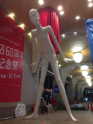 名古屋駅前 ナナちゃん FRP造形