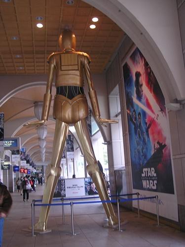 ナナちゃん人形 スターウオーズ C-3PO FRP造形 FRP 造形